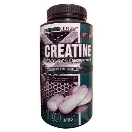 CREATINE LARGE CAPS - Спортивное питание, микронизированый креатин, моногидрат.