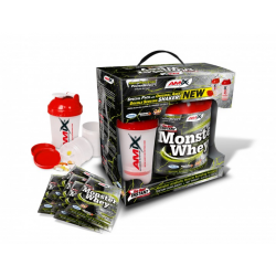 Monster Whey 80% + Shaker
