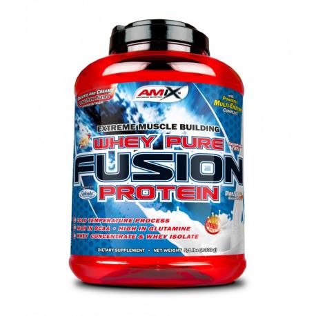 Whey Pure FUSION 75% - Спортивное питание, сывороточный протеин, казеин.