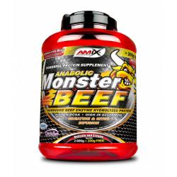 Monster Beef 90% - Sporta uzturs, sūkalu proteins, kazeins.