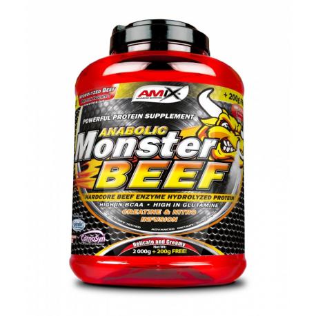 Monster Beef 90% - Спортивное питание, сывороточный протеин, казеин.