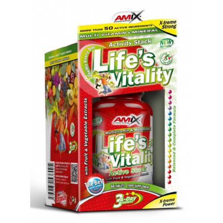 Life Vitality Active - Спортивное питание, витамины, минералы.