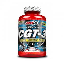 CGT-3 - sporta uzturs, pirms treniņa kompleksi un enerģētiķi.