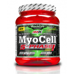 MyoCell® 5 Phase - sporta uzturs, pirms treniņa kompleksi un enerģētiķi.