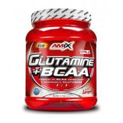 GLUTAMINE + BCAA 530 G.
