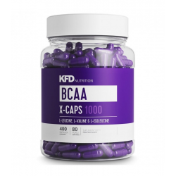 KFD BCAA X-CAPS 400 CAPS.