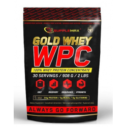 GOLD WHEY WPC 80 - 1,816 KG