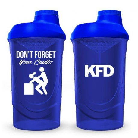 Don't forget your cardio! 600 ml
