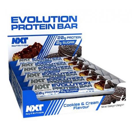 NXT EVOLUTION PROTEIN BAR 12X64 G.