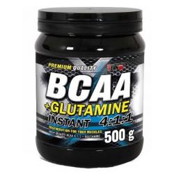 BCAA 4:1:1 + L-GLUTAMINE 500G.
