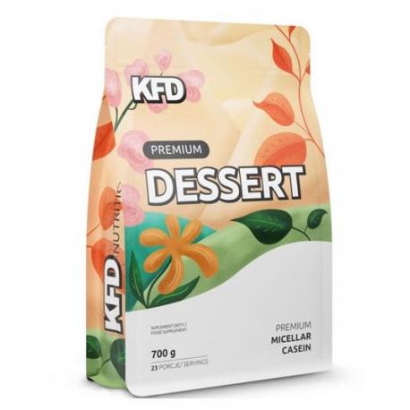 PREMIUM DESSERT MICELLAR CASEIN 80% - Спортивное питание, сывороточный протеин, казеин.